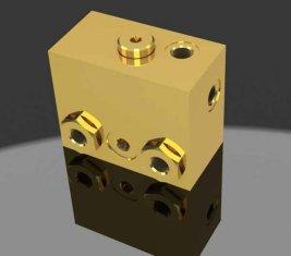 Proporcional freno liberación direccional hidráulica válvula solenoide WYS-1 H