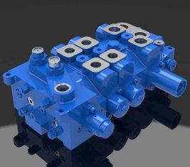 Multi - manera direccional hidráulica válvula 4 DP20GL-2 para grúas