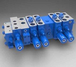 Plena carga sensible Multi - manera direccional Válvula hidráulica LTYB-G28L-5T