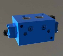 Grúa equilibrada freno direccional hidráulica cartucho válvula PZF-F15L-B