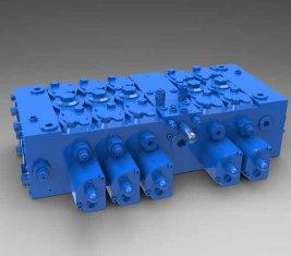 China Forma de carga - sensible Multi - completo QFZMG32H de válvulas de Control hidráulico direccional proveedor