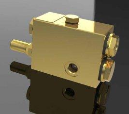 Lanzadera del Acelerador de una manera direccional válvula de Control hidráulico QY12-F4