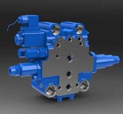 SXHCF10L rotativo búfer Válvula hidráulica direccional para niveladoras de Motor