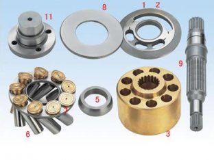 LPVD64 / 75 / 90 / 100 / 125 / 140 / 150 (A912 - 04) piezas de bomba hidráulica