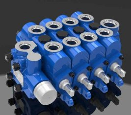China Ingeniería Multi forma válvula de Control direccional hidráulica 4GCJX-G12L proveedor