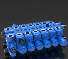 China Multi - socorro forma hidráulica DL de válvula de Control direccional de combinación proveedor