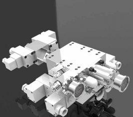 Válvula de control direccional multi hidráulica minera de la manera SCO 1527(1) +SCO1245