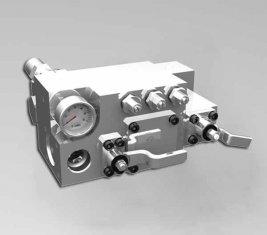 China 420 / 400 Barra válvula de Control direccional-agua Manual CLSF38-1 proveedor