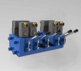 China Electro CMJF20 de válvula de Control direccional hidráulica de 80 / 210 l/min proveedor