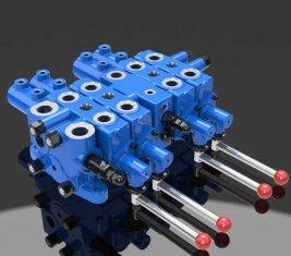Minería hidráulica válvula de Control de verificación Multi direccional DLYS